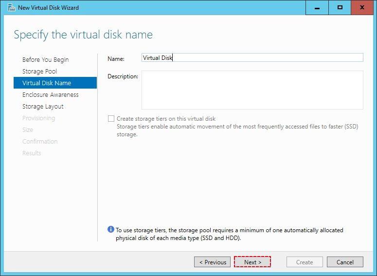 Virtual Disk Name