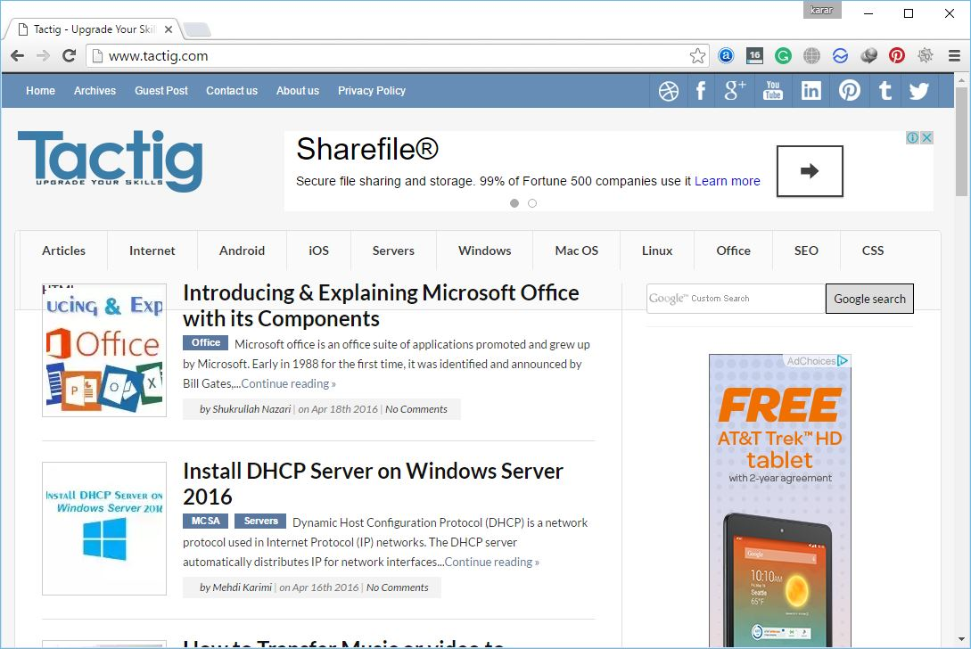 Google chrome home page shortcut - Google Chrome