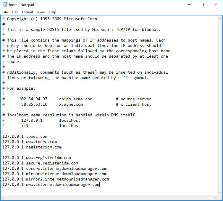Notepad (Copy & Paste the code)