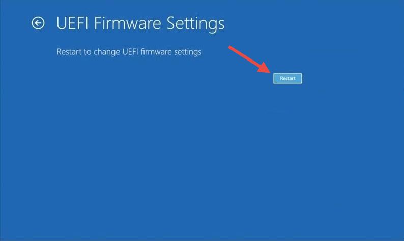 UEFI Firmware Settings