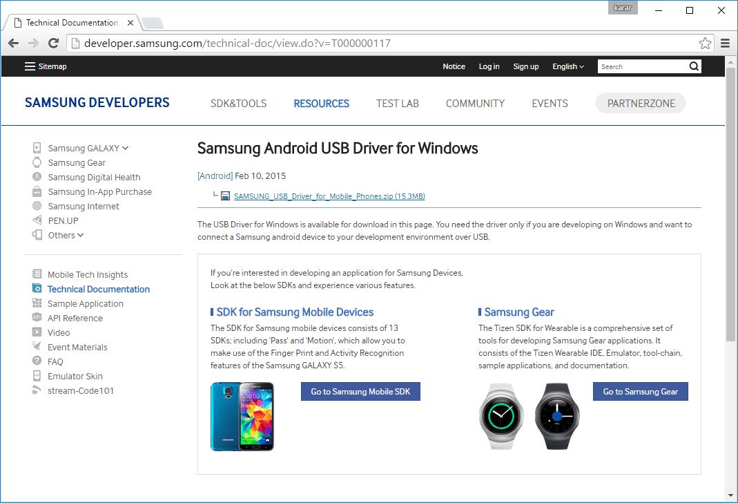 Driver Samsung Usb Download