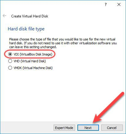Hard Disk Type
