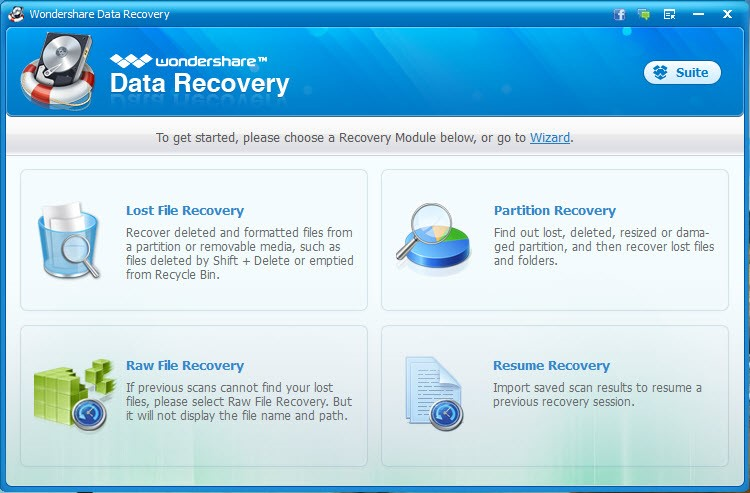 Recover lost files -Tactig